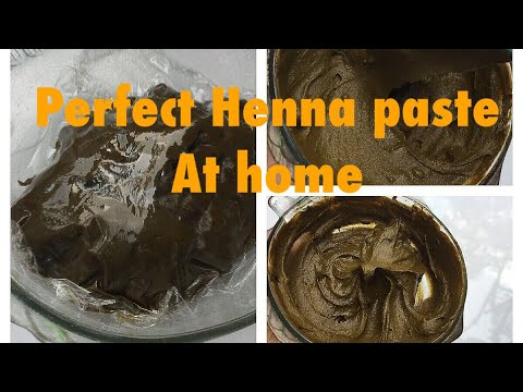 In Tamil How To Make Fine And Perfect Henna Paste At Home