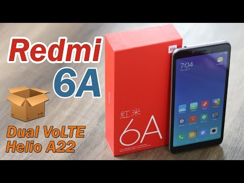 Xiaomi Redmi 6A unboxing, features, specifications and price (Hindi)