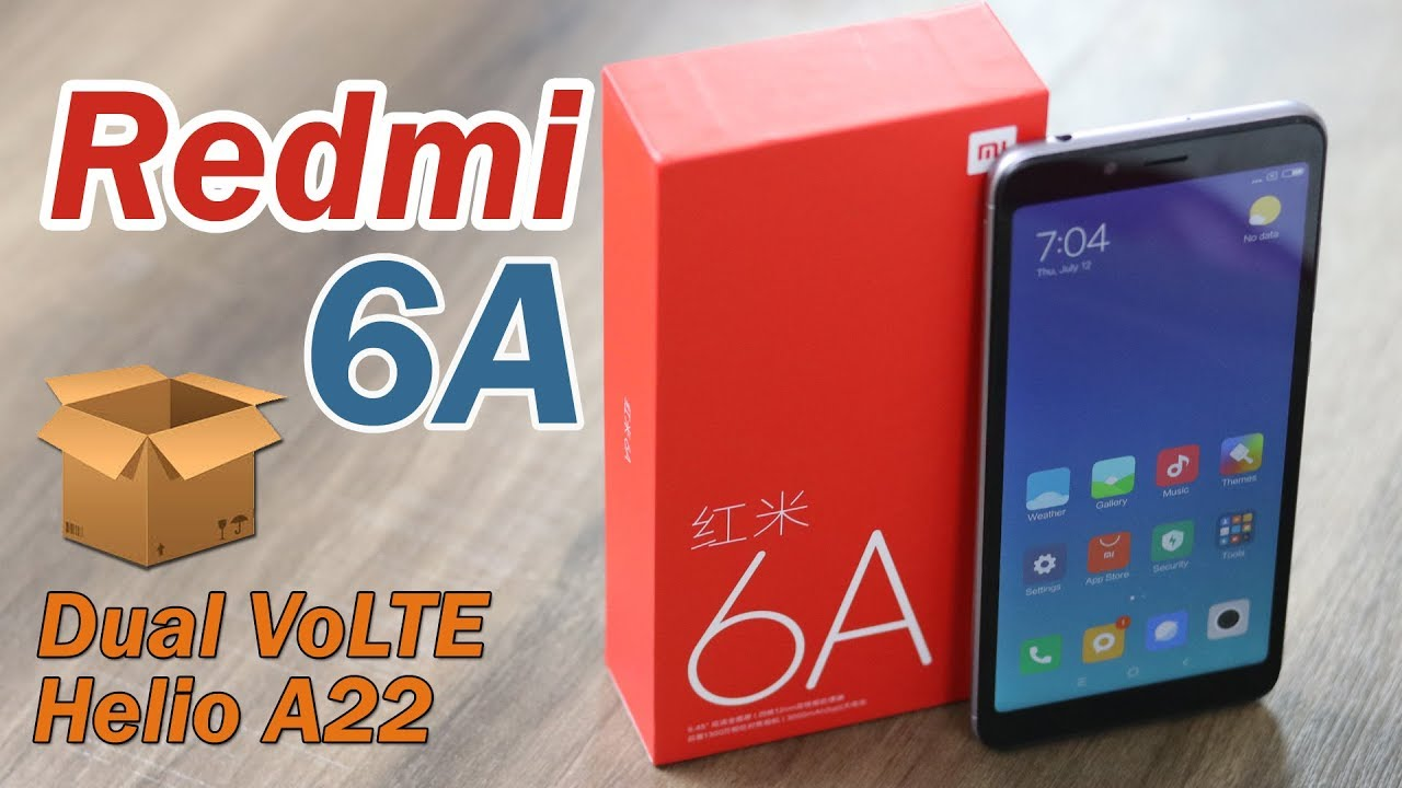 Xiaomi Redmi 6a Unboxing Features Specifications And Price Hindi