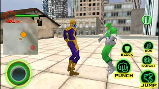 Spider Hero vs Captain PK Superhero Crime City USA | Spider Hero City Fighting - Android GamePlay