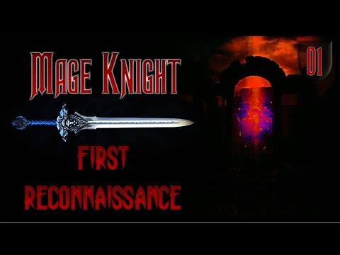 Mage Knight | First Reconnaissance | Episode 1: Move To The Groove