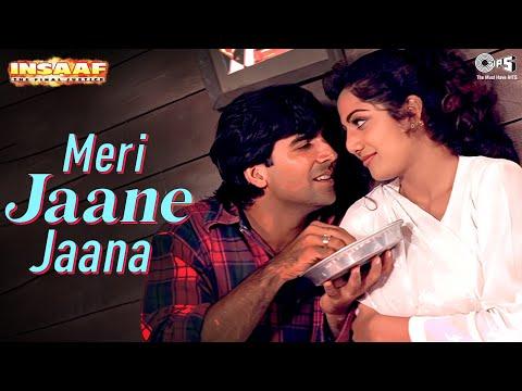Abhijeet's Romantic Hit - Meri Jaane Jana (Insaaf) | HQ