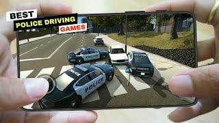 टॉप 10🔥 Android और iOS 2020/2021 के लिए सर्वश्रेष्ठ पुलिस कार ड्राइविंग गेम्स screenshot 2