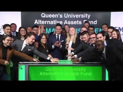 Queen's University Alternative Assets Fund Open's Toronto Stock Exchange