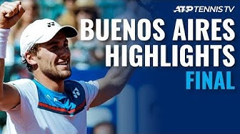 Norway's Casper Ruud Wins First ATP Title! | Buenos Aires 2020 Final Highlights