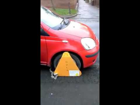 No road tax vehicle