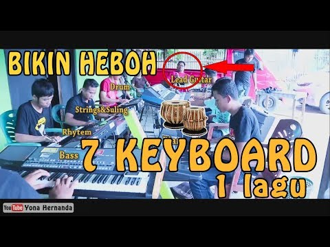 BIKIN HEBOH! Orkes Digital,7 Keyboard 1 Musik 1 Lagu - Sawangen Koplo Ala New Pallapa