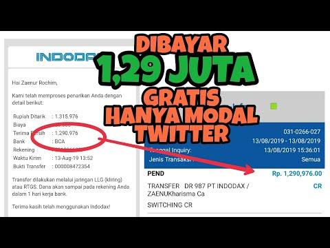 DIBAYAR Rp 1,29 JUTA GRATIS HANYA MODAL TWITTER   GIVEAWAY