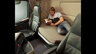 видео В кабине - как дома. Самые крутые грузовики