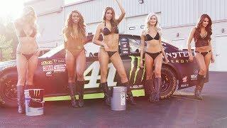 Monster Energy Girls Help Kurt Busch Prepare for NASCAR Playoffs