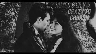 james potter & lily evans; crazy to church