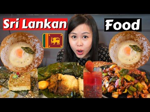 SRI LANKAN Street Food for the FIRST TIME - DELICIOUS KOTTU ROTI, EGG HOPPERS in SYDNEY Australia