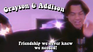 Grayson Dolan & Addison Rae Lowkey Flirting! (Ship :)