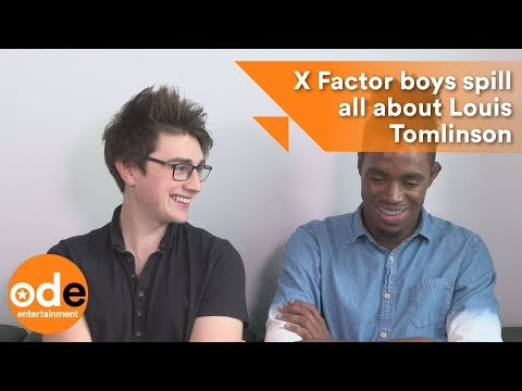 The X Factor: Boys spill all about Louis Tomlinson