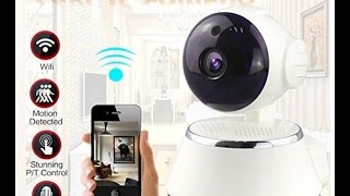 Unboxing Baby Monitor Ounice Wireless 720P Pan Surveillance IP Camera