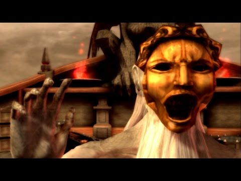 God of War Chains of Olympus: Charon Boss Fight PS3 (1080p 60fps)