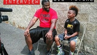 Video LIL' FUTURE EXCLUSIVE INTERVIEW, 11 YEAR OLD BOXING STAR (RAW SPORTS BOXING) download MP3, 3GP, MP4, WEBM, AVI, FLV April 2018