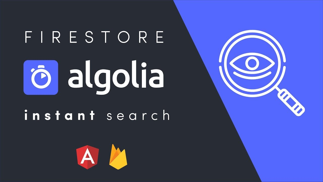 Algolia Firestore QuickStart With Firebase Cloud Functions
