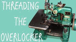 THREADING THE OVERLOCKER