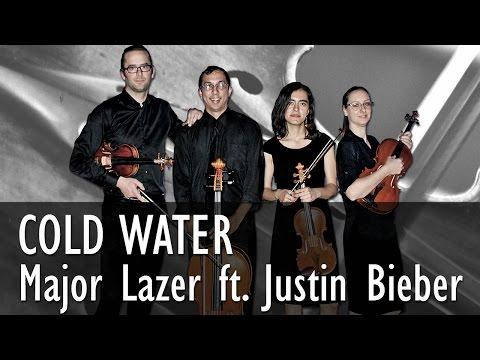 Major Lazer - Cold Water - String Quartet COVER ( Feat. Justin Bieber & MØ)