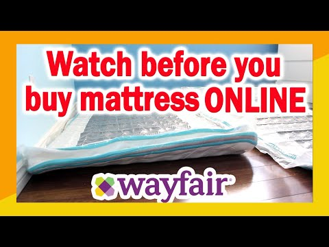 "wayfair-twin-mattress-unboxing-and-review-|-linenspa-8""-memory-foam-and-innerspring-hybrid-mattress"