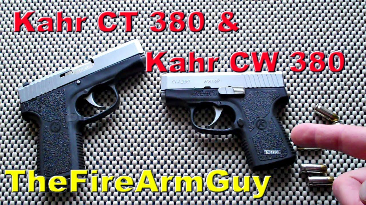 Kahr CW380 & Kahr CT380 - Ultra Subcompact CCW - TheFireArmGuy