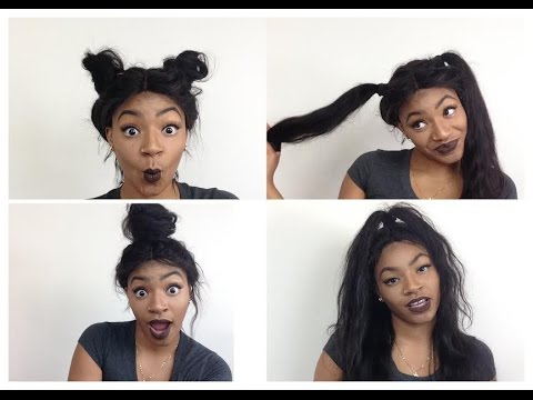 HAIRSTYLES For Your Full Lace Wig Dy777HAIR YouTube
