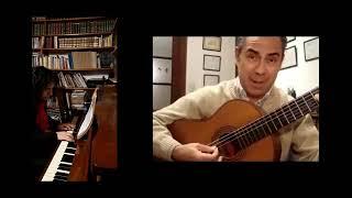 """""""Pedacito de cielo"""" Roberto Guiet y Lorena Brito"""