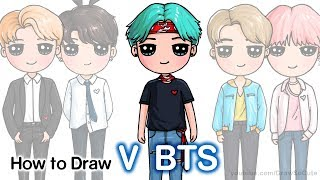 How to Draw V | BTS