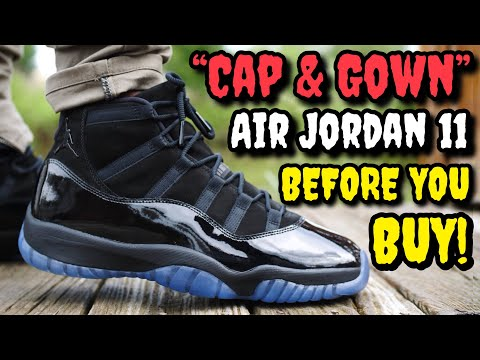 """""""CAP & GOWN"""" / """"PROM NIGHT"""" AIR JORDAN 11 ON FEET REVIEW! WORTH $250? WATCH BEFORE YOU BUY!"""