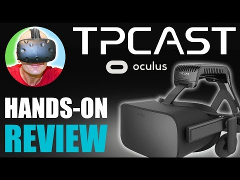 WIRELESS OCULUS RIFT WITH TPCAST! | Hands-On: Rift TPCAST Review, Unboxing & Installation Tutorial