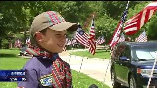 Hometown Hero:  Boy Scout Troops 707 and 719
