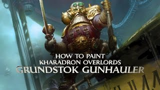Kharadron Overlords: How to paint the Grundstok Gunhauler.