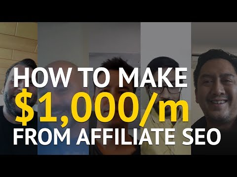 How 5 Affiliate SEOs Hit Their First Consistent $1,000 Months