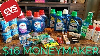 CVS COUPONING HAUL 10/22/17! FREE FREE FREE + MONEYMAKER!