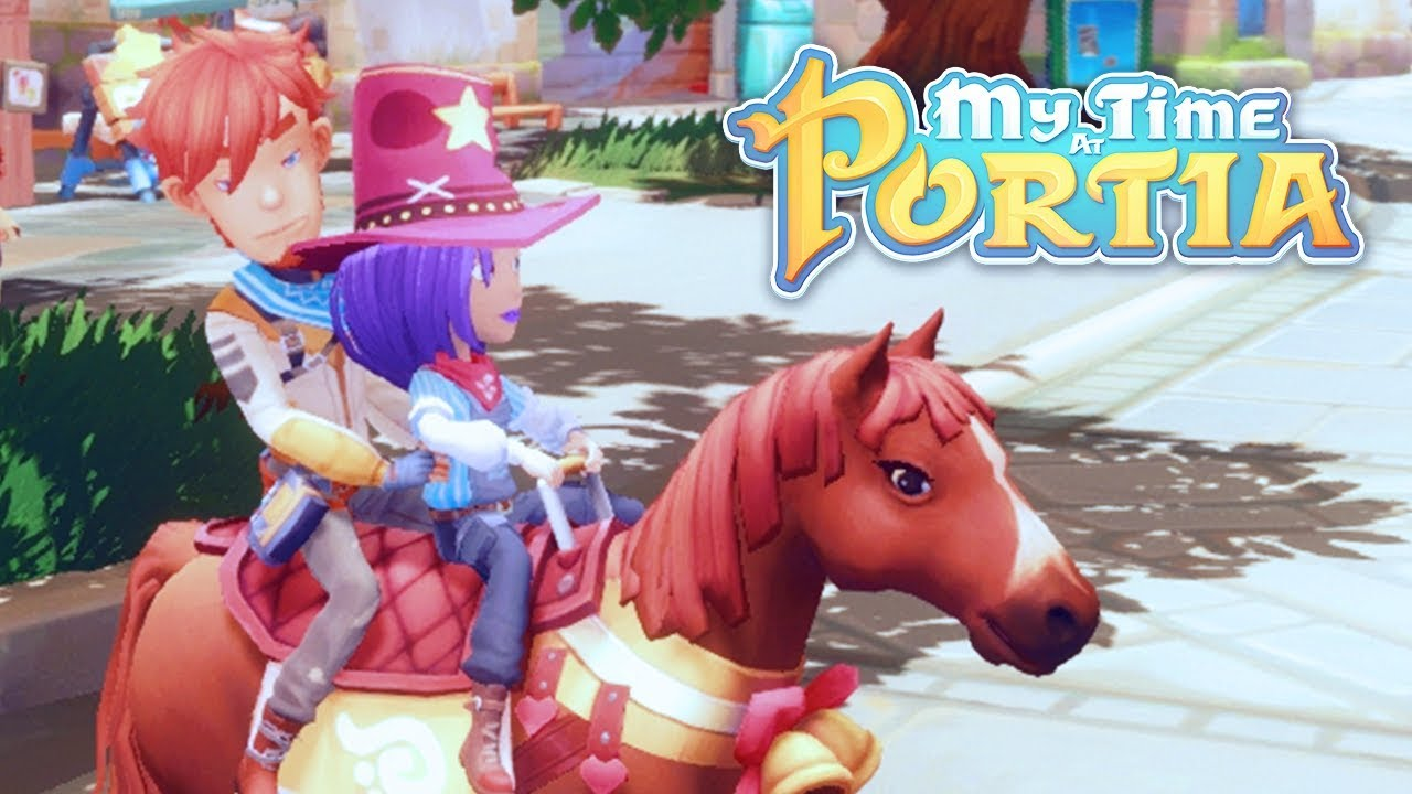 A Day With Arlo My Time At Portia Alpha 50 Part 140 Youtube