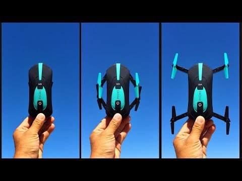 JY018 Mini Foldable RC Pocket Drone - bonus - SNAKE adventure!!!