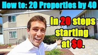 20 Steps: 0 to RICH in Real Estate