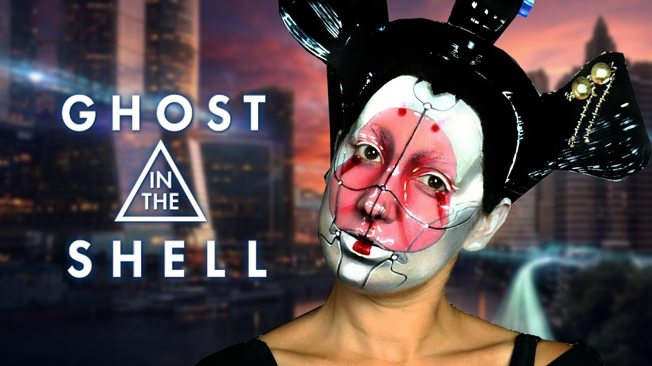 ghost in the shell geisha makeup youtube. Black Bedroom Furniture Sets. Home Design Ideas