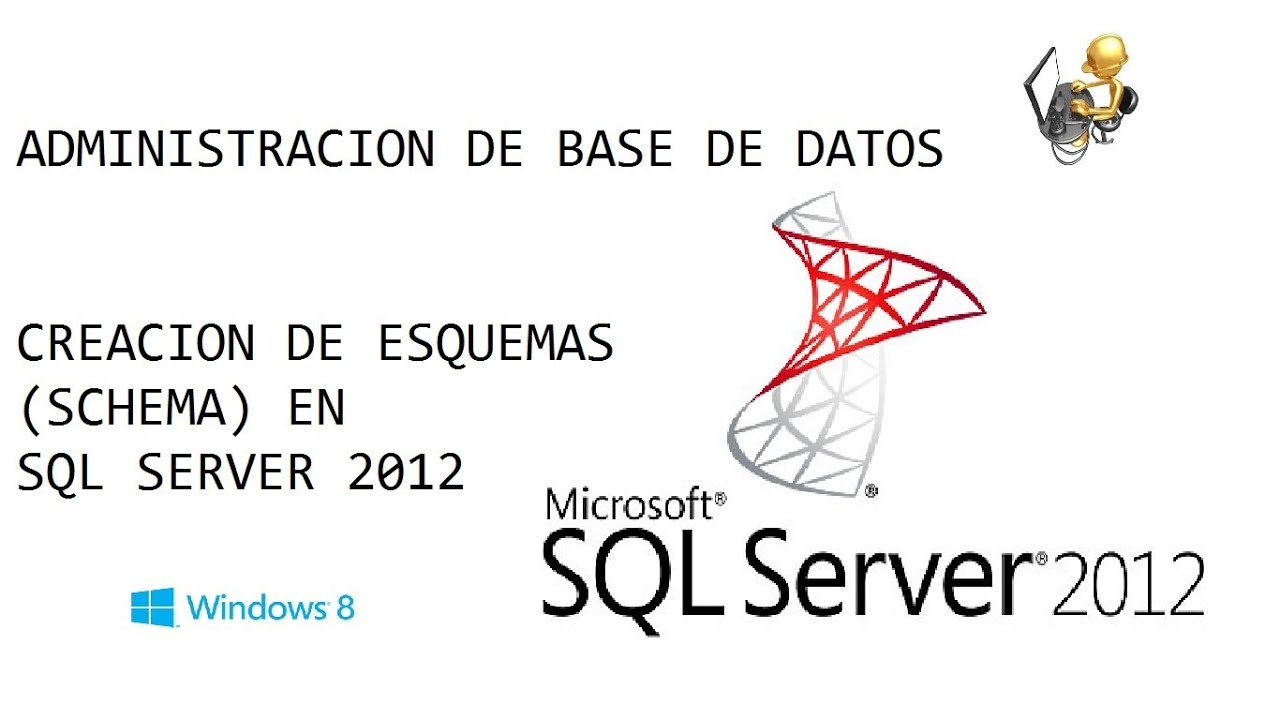 how to create schema in sql server 2012