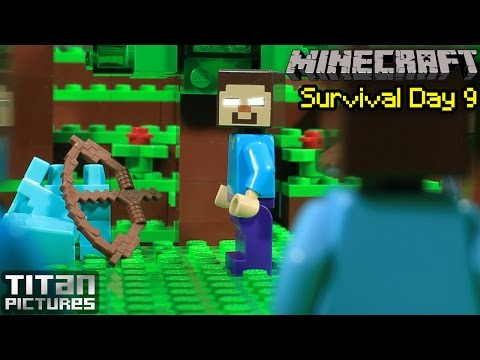 Lego Minecraft Survival 9