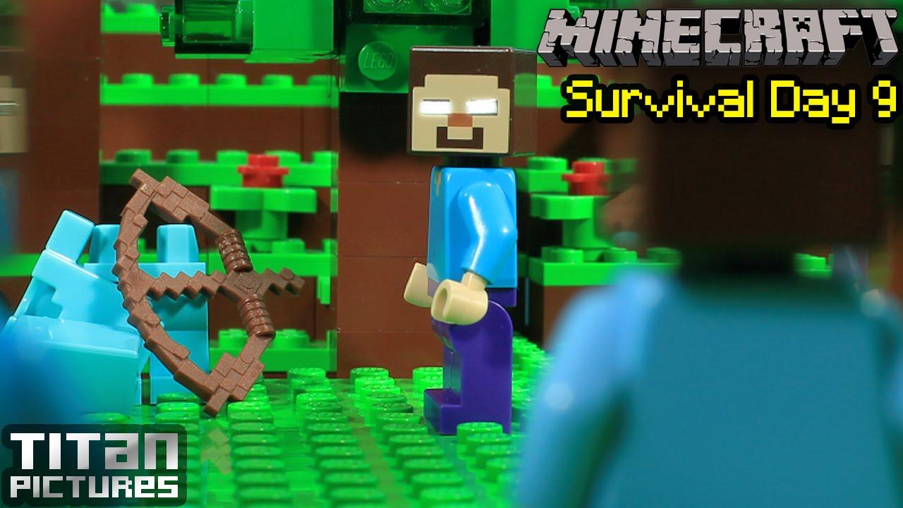 Ender Steve Fighting Dragon Minecraft