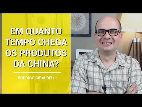 Quanto tempo leva para chegar os produtos da China para o Brasil? | China Gate | Importação | PR3