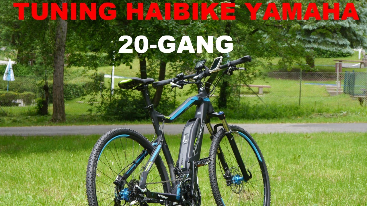 tuning haibike yamaha cross rc 20 gang youtube. Black Bedroom Furniture Sets. Home Design Ideas