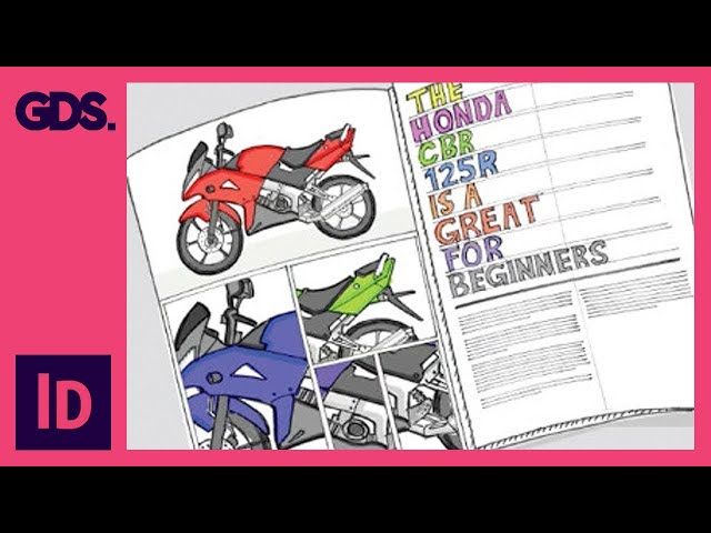 Create a Scamp, Designing For My InDesign Composition - Ep3/13 [Adobe InDesign For Beginners]