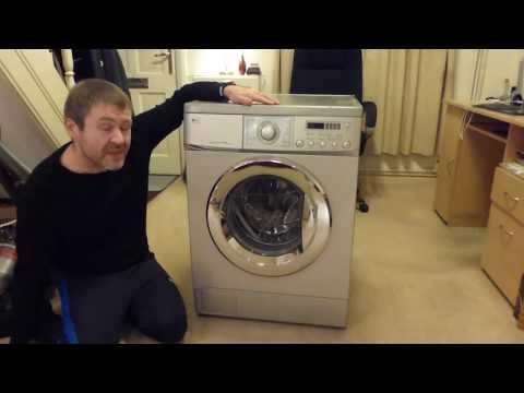 LG Washer WM14225FD - EOL: Disassembly / Post mortem Part 1