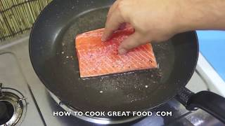 How To Cook Salmon - Easy Lemon Butter Salmon - Easy Salmon Recipe - Lemon Butter Salmon