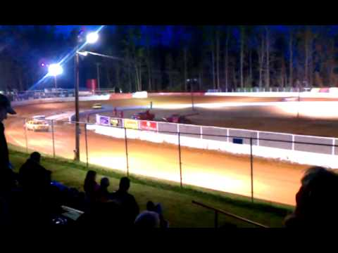 East Lincoln Speedway, Stanley NC - V8 Late Model Heat
