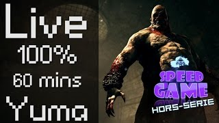 Speed Game Hors-Série: Live outlast 100% en moins d'une heure !
