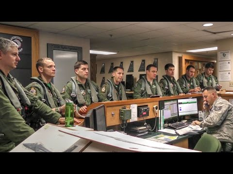 Air Force Pilots Preflight Briefing & Takeoff  – F-15E Strike Eagle